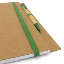 Llibreta cartró reciclat personalitzada