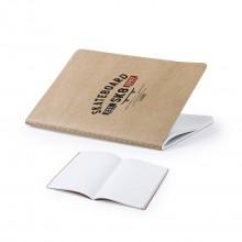 Llibreta amb logo cartró reciclat A5  -ZURIX