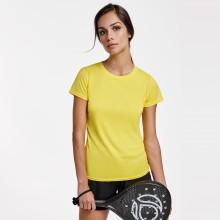 Camiseta con publicidad técnica  mujer -MONTECARLO
