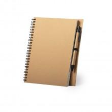 Llibreta de cartró reciclat personalitzada - NEYLA