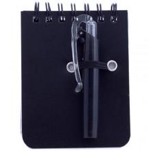 Mini libreta 60 hojas con bolígrafo DUXO