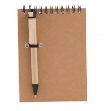 Libreta 10,5 x 14,5 cm 60 hojas lineadas bolígrafo incluido CONCERN