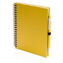 Libreta 15 x 18,2 x 1,9 cm 70 hojas blancas con bolígrafo KOGUEL