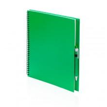 Libreta 23,7 x 29 x 2 cm 80 hojas blancas con bolígrafo  TECNAR