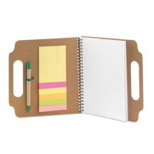 Bloc de notes 21 x 20 cm Notes adhesives i bolígraf inclosos MAKRON