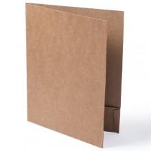 Carpeta cartró reciclat personalitzada