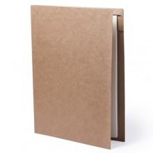 Carpeta cartró reciclat amb bloc de 20 fulles i bolígraf BLOGUER