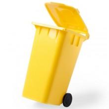 Pot  amb forma de cubell escombraries ORGANIC