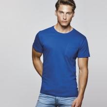 Camiseta algodón manga corta Bolsillo TECKEL160g adult
