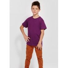 Camiseta algodón manga corta DOGO 165g niñor color