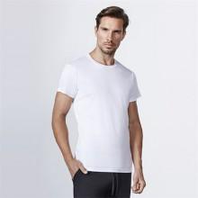 Camiseta algodón manga corta 165g adulto color