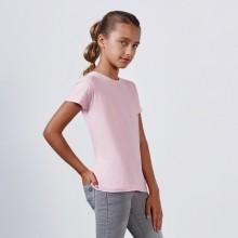camiseta entallada de niña personalizada