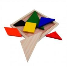 Puzzle de fusta 7 peces TANGRAM