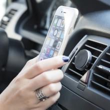 Soporte de móvil adhesivo y magnético para el coche ARAGOR