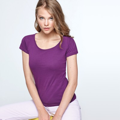 samarreta llisa de noia per personalitzar
