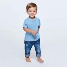 Camiseta algodón manga corta especial bebé BABY