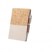 Bloc de notes 14.5x22 cm 80 fulles blanques BRASTEL