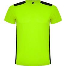 Camiseta personalizada técnica bicolor para niños - DETROIT KIDS