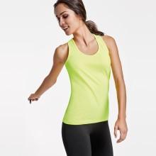 Camiseta personalizda elástica de mujer de tiras - AIDA