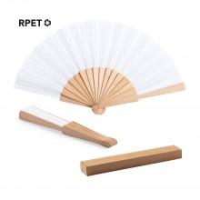 ventall de  fusta/polièster RPET WATER