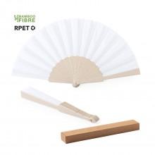 ventall de  fibra de bambú/polièster RPET LENCER
