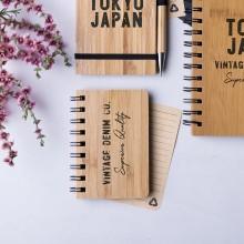 Llibreta bambú per personalitzar
