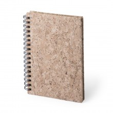 Llibreta tapa rígida de suro personalitzada