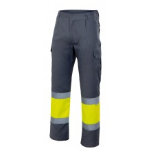 Pantaló personalitzat BLAU MARÍ/GROC FLUOR