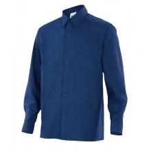 Camisa personalitzada blau marí