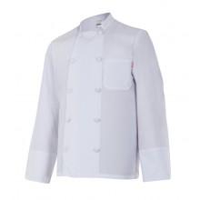 Jaqueta de cuina màniga llarga