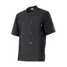 Jaqueta de cuina màniga curta