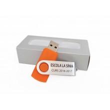 Memòria USB 32gb personalitzada blanca
