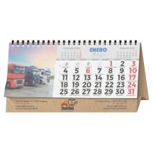 Calendari sobretaula wire-o 7 fulls personalitzat