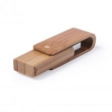 Memòria USB fusta bambú personalitzat 16GB (sense mínim) - HAIDAM